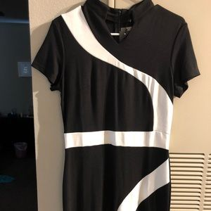 Brand New Amazon B&W dress